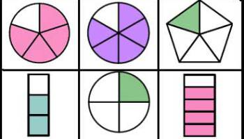 [size=200]Escribe [b]con números[/b] las siguientes fracciones. [/size]