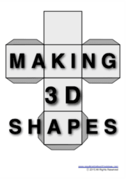 Nets- Can you picture what the 3D shape will look like?