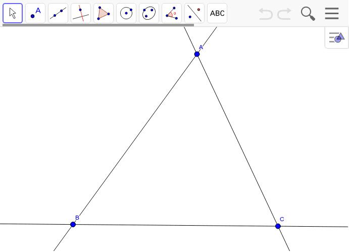 X20は外心点であり重心点でもある。その等角共役点X64とUは外心点だが重心点は二組に分かれる。 Press Enter to start activity