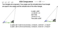 ASA Congruence