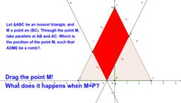 Geometry K7 parallalelism problem