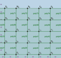 Square Tesselation