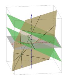 Maturaufgabe zur Raumgeometrie