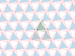 array of equilateral triangles