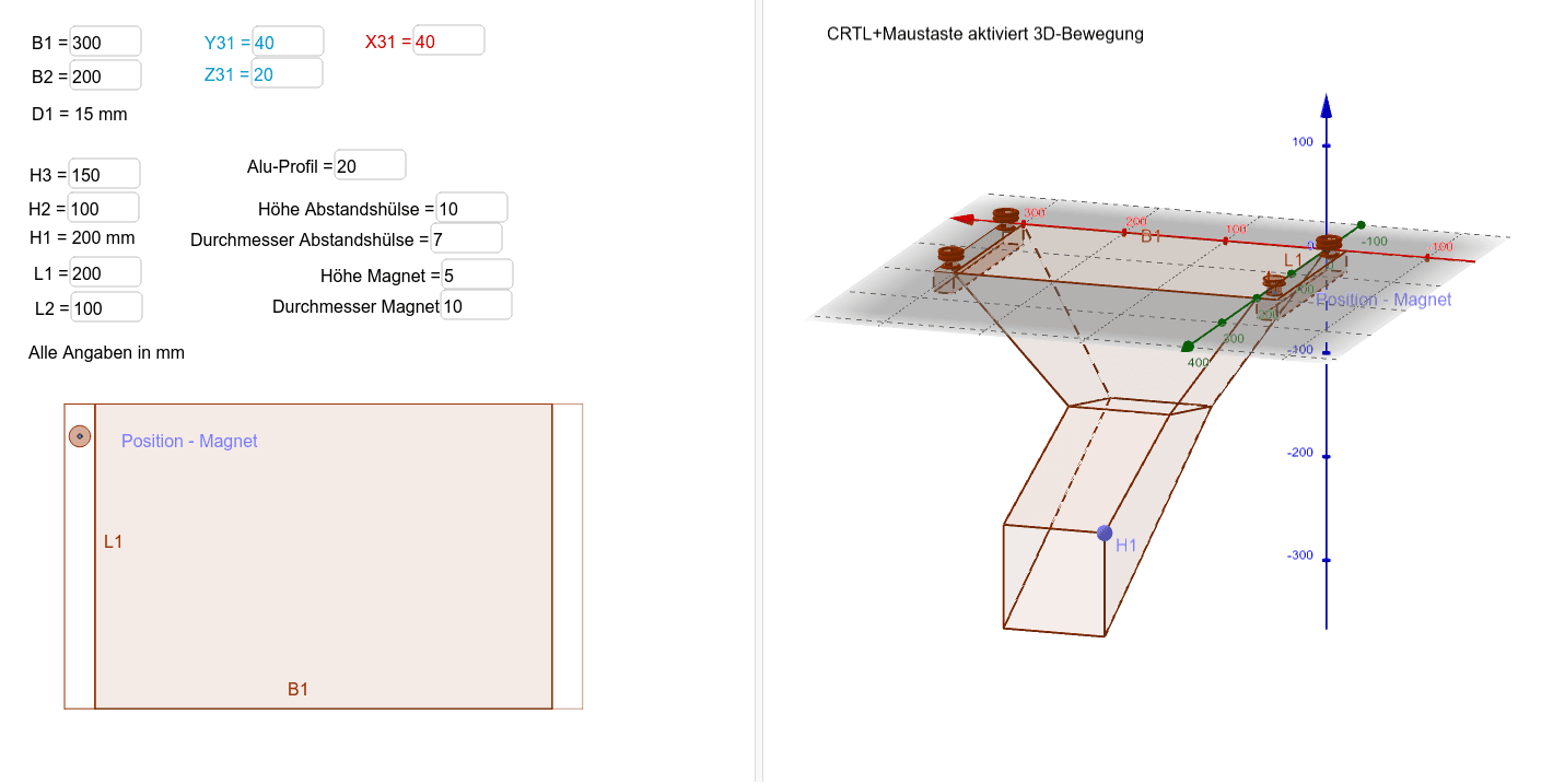 Abfallsack (SGM) Konfigurator Drücke die Eingabetaste um die Aktivität zu starten