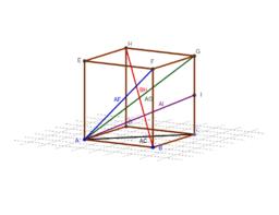 Diagonalen im Würfel