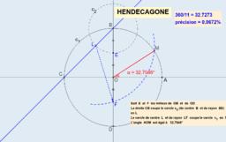 Hendécagone (11 côtés)
