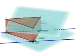 Figuras congruentes en planos paralelos