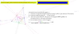 circonferenza inscritta in triangolo-calcolo del raggio