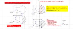 2D -  sezione figura geometrica con arco