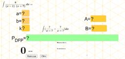 Integral por descomposición en fracciones parciales