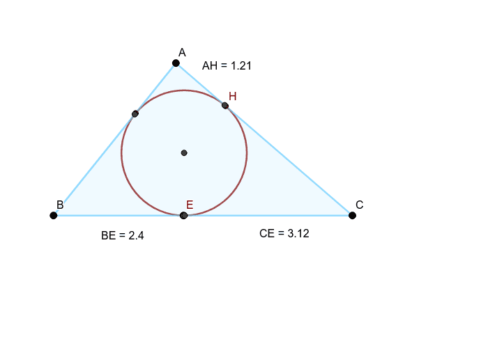 What is the perimeter of the triangle?