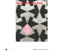"Mosaico ""avión"" Alhambra"