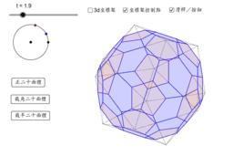 切割正二十面體