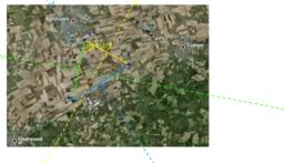 Circumcenter Google Earth