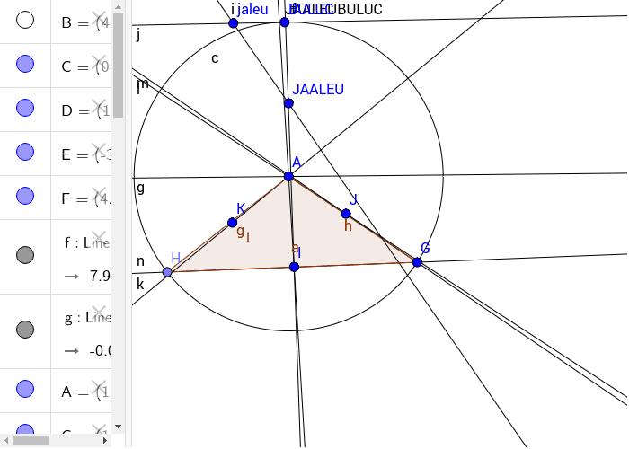 Tringhiul JAALEU,BULUC,JAALEUBULUC