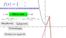 Ορισμός παραγώγου στο x0 (πολλαπλός τύπος)