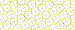 Pythagorean Theorem by Tessellation # 60 Tiling
