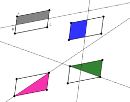 Quadrilateral Reflectional Symmetries