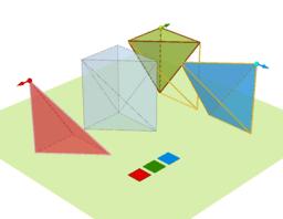分割三角柱