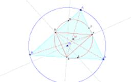 逆中点三角形と傍心三角形