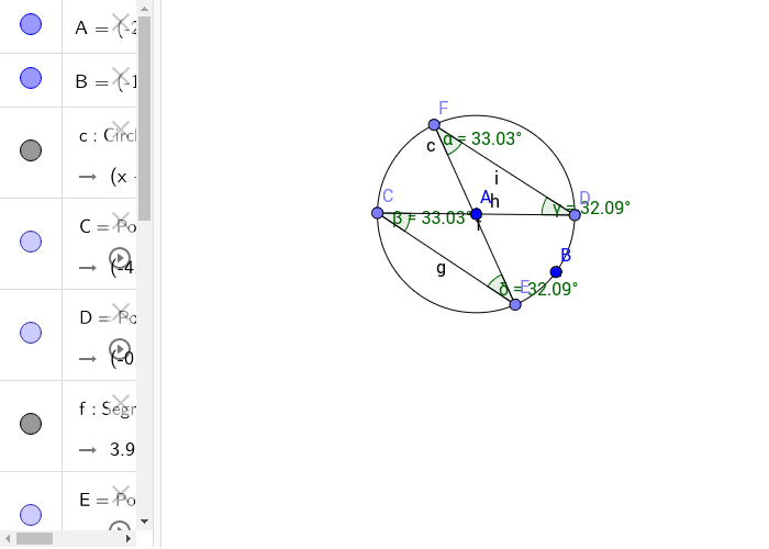 Angles Subtended by Same Arc