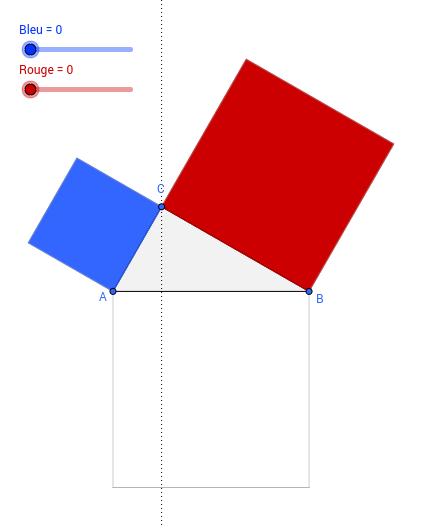 Démonstration du Théorème de Pythagore