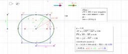 calcolo coordinate punto intersezione quadrato/ellisse