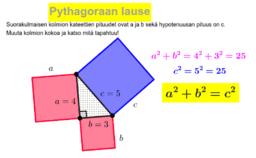 Pythagoraan lause