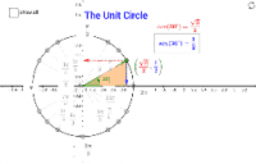 Unit Circle - exact values