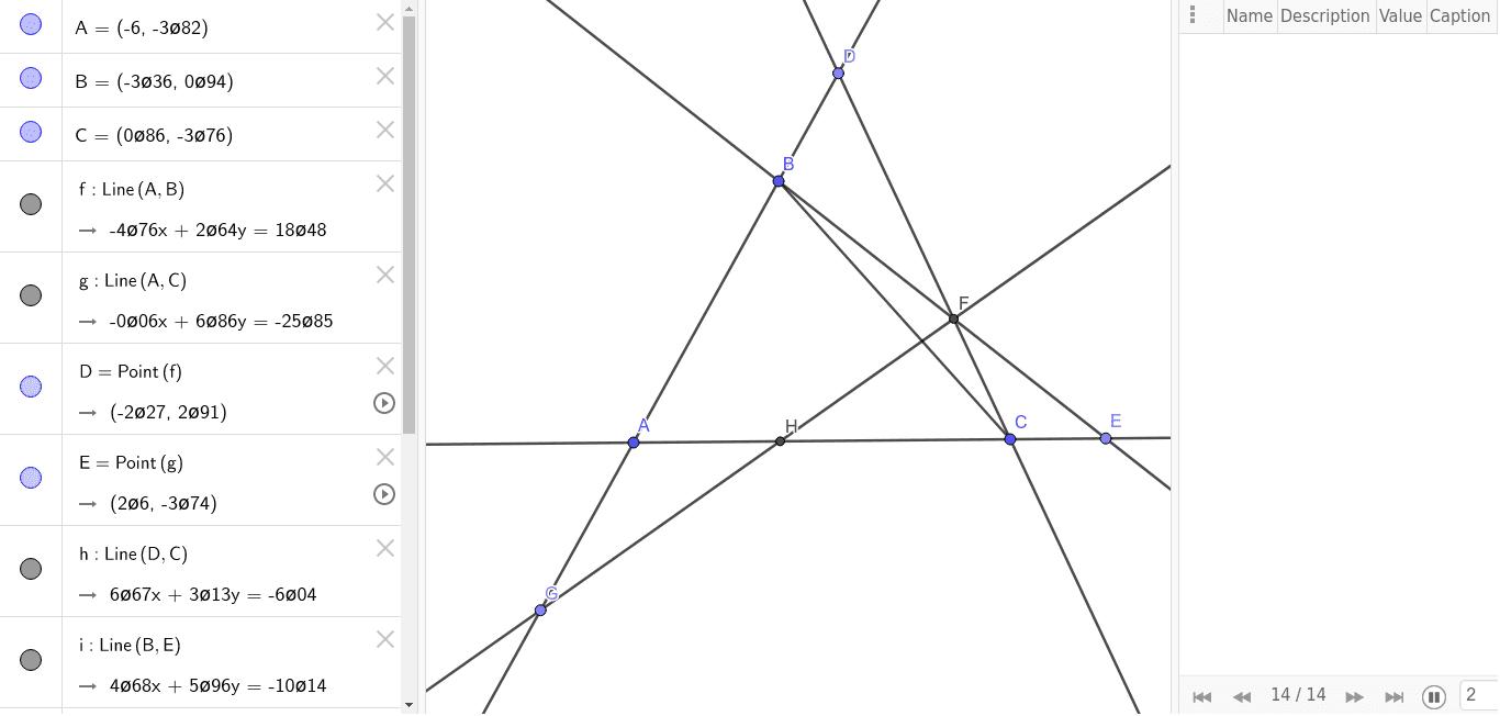 Given A and C show that exist a point H such that A*H*C Premi Invio per avviare l'attività