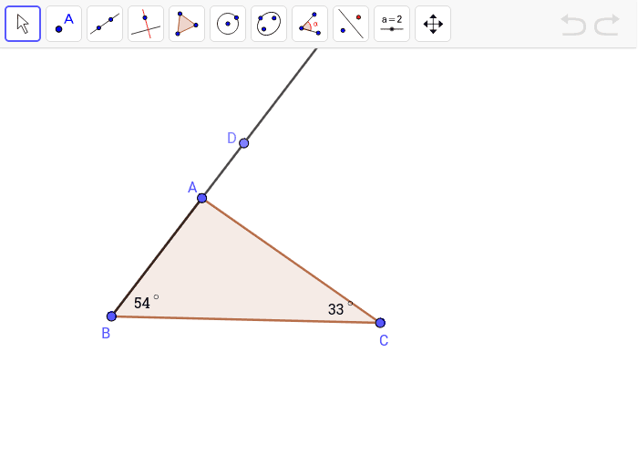 Find the measure of angle CAD