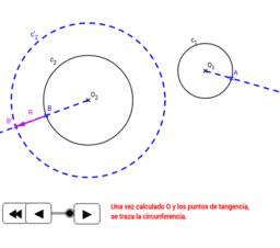 EPV3.Tangencias.Enlace circunferencia circunferencia.