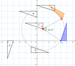 Identify Rotated Polygons