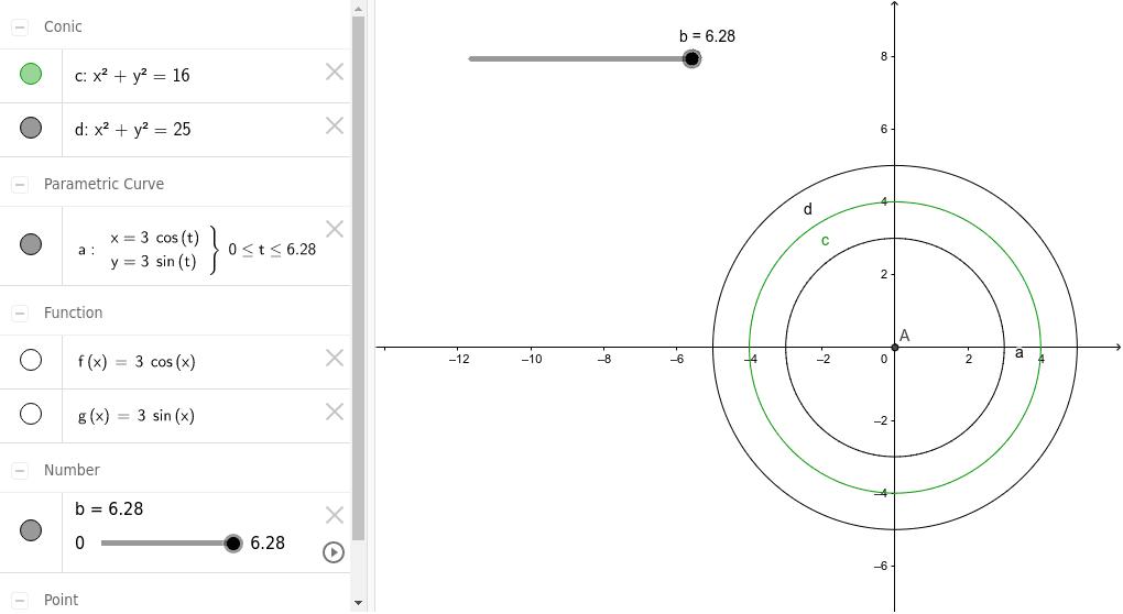 Circunferencias-tres construcciones diferentes Press Enter to start activity