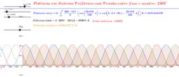 Potência Ativa, Reativa e Total de Sistema Trifásico