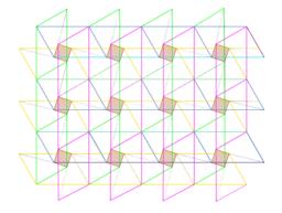 Pythagoran Theorem by Tessellation # 2 Tiling