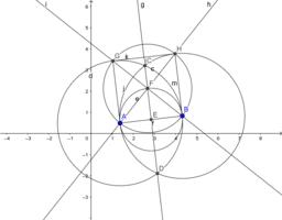 Con regla y compás: n=4