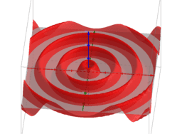 Circular wavefronts (diverging)