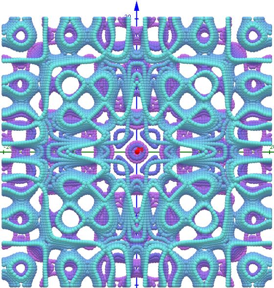 Chladni Figuren- 1 2 8, s=1, L=20   01-15