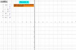 Representación de pares ordenados en el plano cartesiano