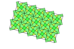 Pythagorean Theorem by Tessellation # 98 Tiling