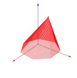 Pirâmide por homotetia