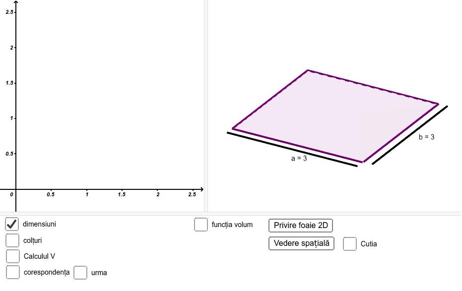 Bifați căsuța colțuri, modificați valoarea parametrului c.  Bifați căsuța Cutia. Modificați iar valoarea parametrului c. Bifați consecutiv căsuțele ramase. Modificați valoarea parametrului c.  Press Enter to start activity