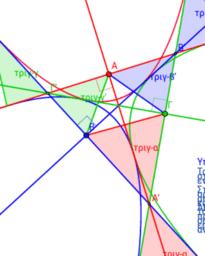 Θεώρημα με τις παραβολές τριγώνου