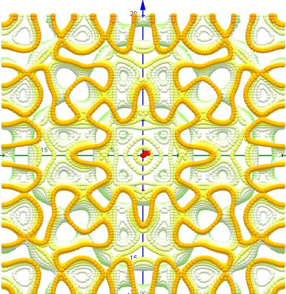 Chladni Figuren- 1 2 7, s=1, L=20   6-15