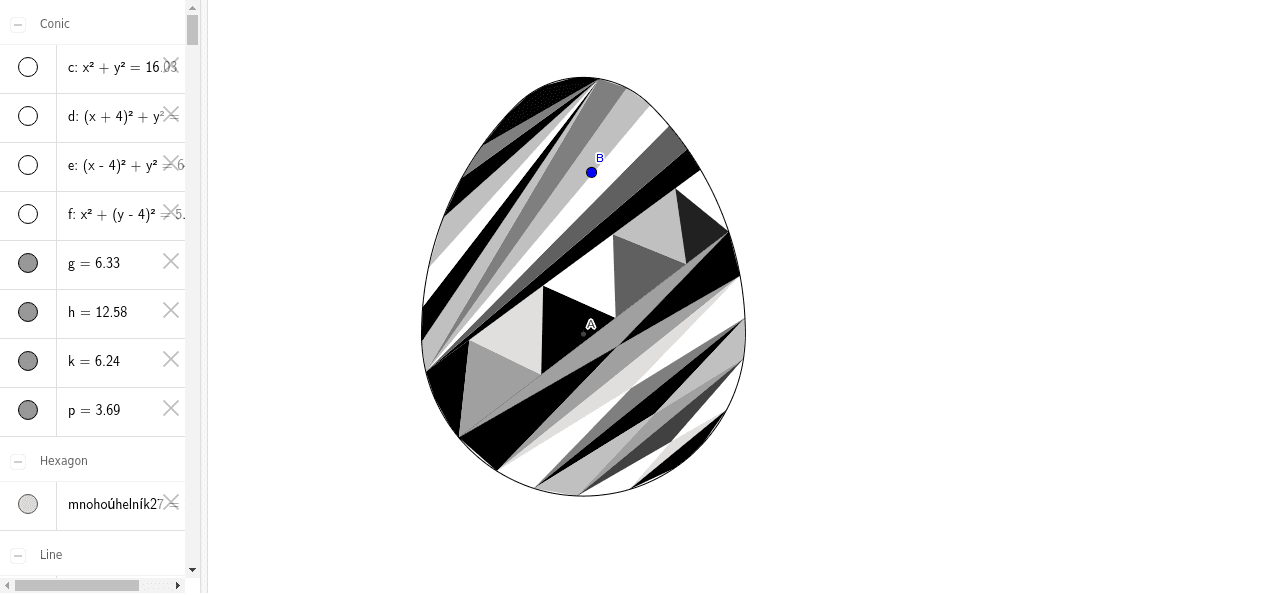 no tool, not dynamic, colors are not inside the egg because it is not dynamic