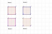 Dibujo y construcción_Cuatro cuadrados_Práctico1.