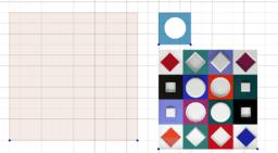 Фигуры Вазарели-2 c помощью симметрии