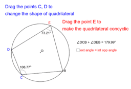 Test for Concyclic points (2)